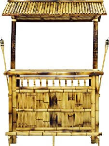 Amazon Bamboo Tiki Bar Furniture & Decor