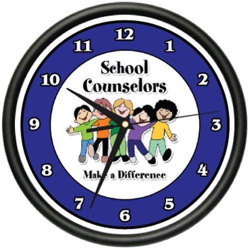 SCHOOL COUNSELOR Wall Clock children guidance kids school office gag gift