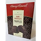 Harry and David, Dark Chocolate Truffles, 8oz (Pack of 2)