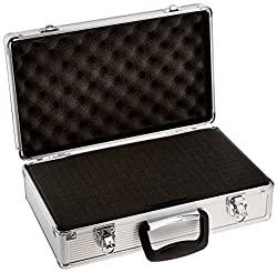 SRA Cases EN-AC-FG-C203 Aluminum Hard Case, 15.8 x 9.5 x 5 Inches