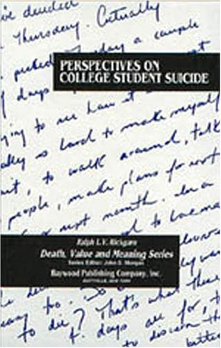 Perspectives on College Student Suicide Death Value and Meaning Series089526000X : image