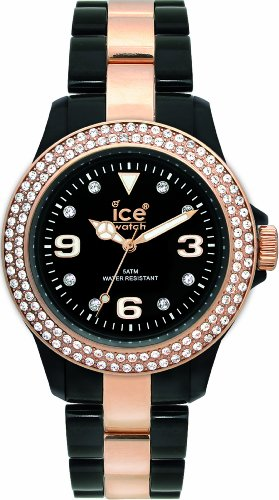 Ice-Watch Stone Black Unisex Plastic Watch ST.BK.U.P
