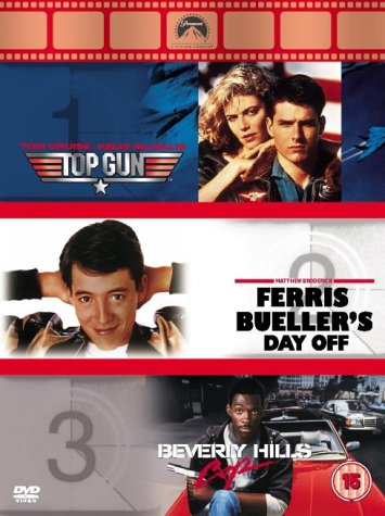 Top Gun/Ferris Bueller's Day Off/Beverly Hills Cop [DVD] - Three 80s classics.