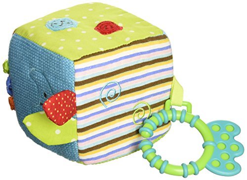 Bigjigs Baby Bruno Activity Cube
