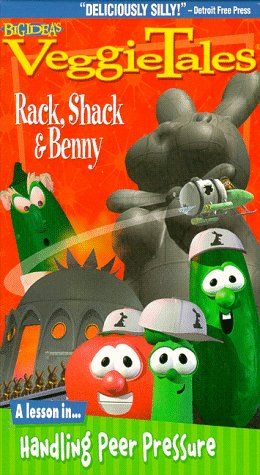 VeggieTales - Rack, Shack & Benny [VHS]