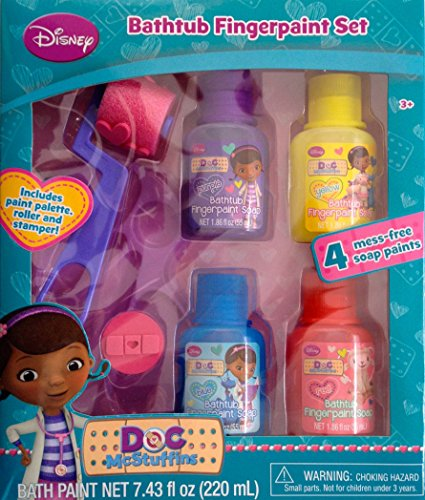 Doc Mcstuffins Bathtub Fingerpaint Set