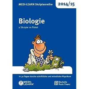 MEDI-LEARN Skriptenreihe 2014/15: Biologie im Paket: In 30 Tagen durchs schriftliche und m