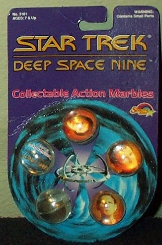 Star Trek Deep Space Nine Collectable Action Marbles