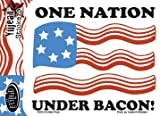 Evilkid Productions - One Nation Under Bacon - Sticker / Decal