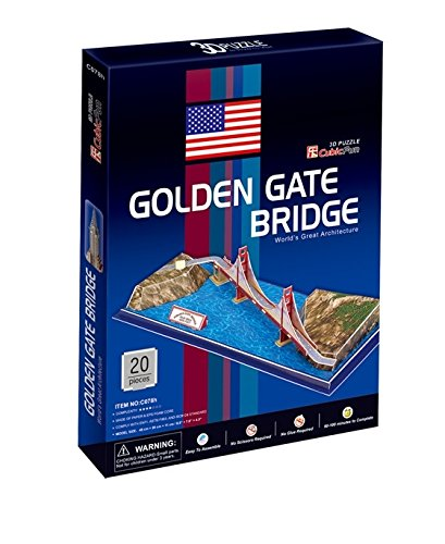 CubicFun C708H Golden Gate Bridge Puzzle