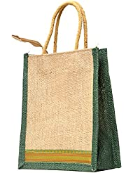 Multi-purpose Jute Carry Bag/lunch Bag/shopping Bag - B01LWUJ1OZ