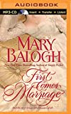 First Comes Marriage (Huxtable Series)