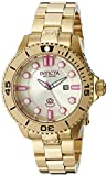 Invicta Analog Gold Dial Women's Watch - 19821