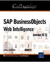 SAP BusinessObjects XI 3 Web Intelligence