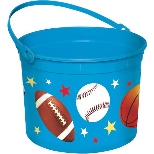 Sports Plastic Bucket