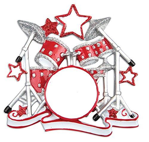 Personalisierte-Weihnachtsschmuck-Hobbyactivities-drum-Set