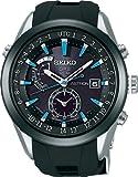 [セイコー]SEIKO 腕時計 SEIKO ASTRON アストロン ソーラー GPS 衛星電波修正 ステンレススチール 強化シリコンバンド 黒×ブルーダイヤル サファイアガラス スーパークリアコーティング 日常生活用強化防水 (10気圧防水) SBXA009 メンズ