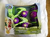 Disney Faries Adjustable Junior Skate Combo Includes Junior Roller Skates and Knee Pads