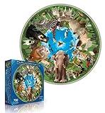 Round Table Puzzle - Animal Arena (500 Piece)