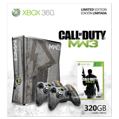 Xbox 360 Limited Edition Call of Duty: Modern Warfare 3 Bundle (Xbox 360 Special Edition Console compare prices)