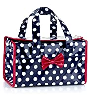 Nautical Spotted Weekend Cosmetic Bag