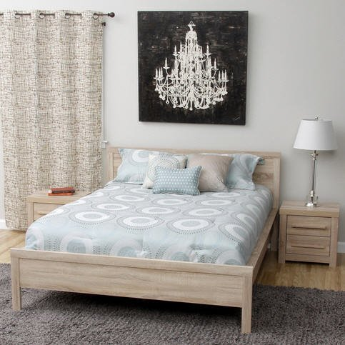 Night Stand Oak front-1063495