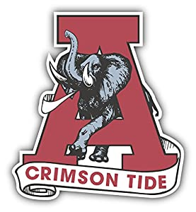 Alabama crimson tide ncaa football old logo for Alabama football mural
