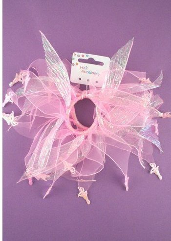 Pink Windmill Ballerina Scrunchies x 2