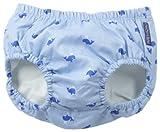 JoJo Maman Bebe Baby-Boys Newborn Swim Diaper, Whale, 6-12 Months