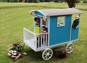 soulet cabane roulotte en bois pour enfant carry soulet jardin. Black Bedroom Furniture Sets. Home Design Ideas