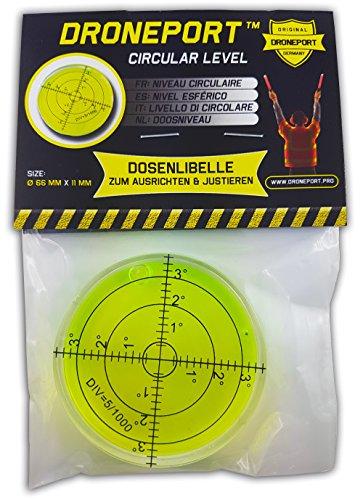 Dosenlibelle-mit-Przision-kalibrieren-ausrichten-und-justieren-Kunststoff-Miniformat-Wasserwaage--66mm-GrnGelb