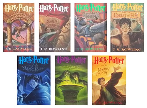 Harry Potter (Harry Potter and The Sorcerer's Stone/Chamber of Secrets/Prisoner of Azkaban/Goblet of Fire/Order of the Phoenix/Half-Blood Prince/Deathly Hallows)