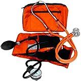 Dixie Ems Blood Pressure and Sprague Stethoscope Kit, Orange