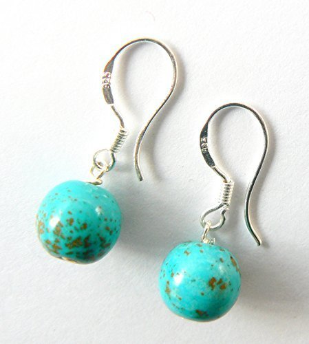 black-friday-sale-turquoise-and-sterling-silver-drop-earrings