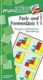 miniLÜK: Farb- und Formenquiz 1: Dr. Fitmacher für Vorschulkinder und