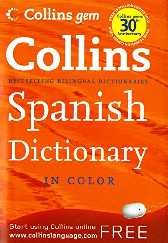 Collins Gem Spanish Dictionary, 8e (Collins Language) PDF