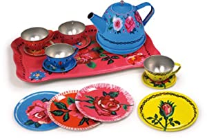 Vilac 14 Piece Tin Tea Set from Vilac