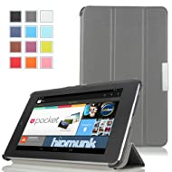 MoKo Ultra Slim Lightweight Smart-shell Stand Case For Google Nexus 7 Inch Tablet By ASUS GRAY (with Smart Cover...