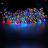 60/100/200 LED String Solar Light Garden Outdoor Xmas Party Fairy Tree Deco Lamp 100 Multi-color