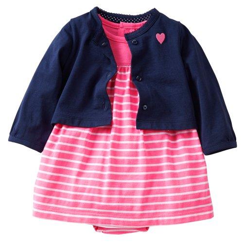 (Externo) vestido Carters carter - 0 - Cardigan establecer paralelo importaciones multicolor algodón 6 meses 121 C 317
