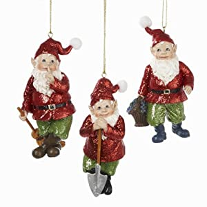 Amazon.com - Club Pack of 12 Garden Gnome Christmas ...