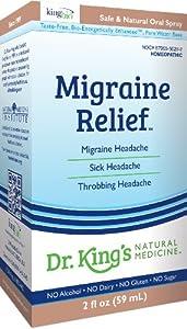 Dr. King's Natural Medicine Migraine Relief, 2 Fluid Ounce