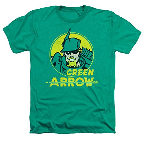 DC Green Arrow Archer Circle Heather T-Shirt