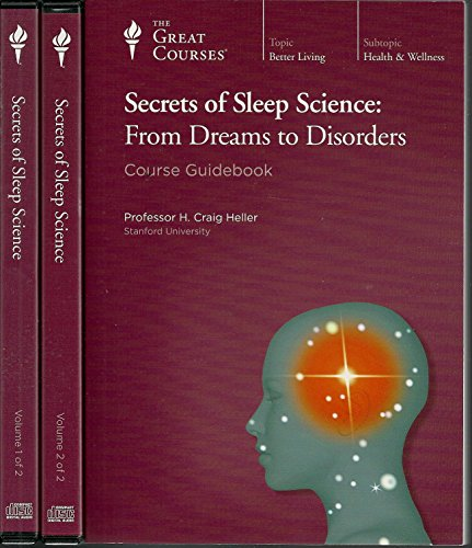 Secrets of Sleep Science: From Dreams to Disorders (Great Courses) (Teaching Company) (Course Number 1942 Audio CD) (Teaching Company Cd compare prices)
