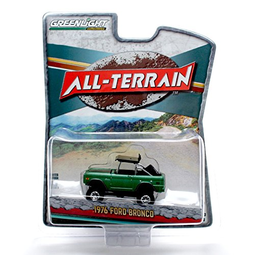 1976 FORD BAJA BRONCO * All-Terrain Series 3 * 2016 Greenlight Collectibles 1:64 Scale Limited Edition Die-Cast Vehicle