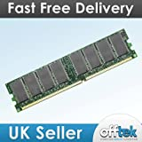1GB RAM Memory for HP-Compaq Evo D310 Series (PC2100 - Non-ECC) - Desktop Memory Upgrade