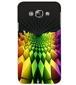 SAMSUNG GALAXY E7 PATTERN Back Cover by PRINTSWAG