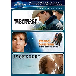 Focus Features Spotlight Collection (Brokeback Mountain / Eternal Sunshine of the Spotless Mind / Atonement)