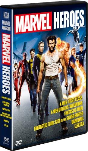 【FOX HERO COLLECTION】MARVEL DVD-BOX(6枚組)(初回生産限定)