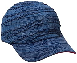 Kangol Men's Speed Knit Adj Space Cap, Navy, One Size